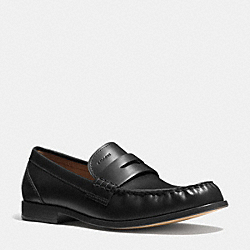 COACH TIM PENNY LOAFER - BLACK - Q6125