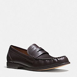 COACH TIM PENNY LOAFER - MAHOGANY - Q6125