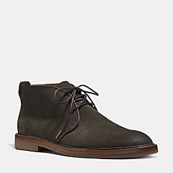 GAVIN BOOT - DARK OLIVE - COACH Q6130