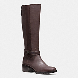 COACH PENCEY BOOT - CHESTNUT - Q6144