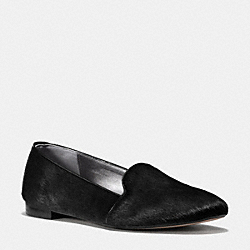 CAMBRIDGE FLAT - q6149 -  BLACK