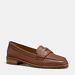 PALMER LOAFER - q6166 -  SADDLE
