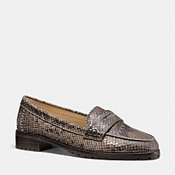 PALMER LOAFER - q6168 -  FLINT