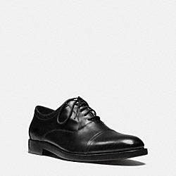 AIDEN OXFORD - BLACK - COACH Q6170