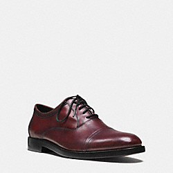 COACH AIDEN OXFORD - CORDOVAN - Q6170