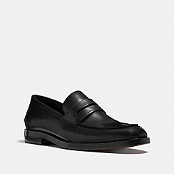COACH ALLEN LOAFER - BLACK - Q6173