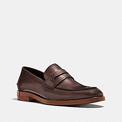 ALLEN LOAFER - DARK BROWN - COACH Q6173
