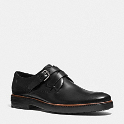 COACH BLAKE LOAFER - BLACK - Q6179