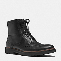 BRANDON BOOT - BLACK - COACH Q6186