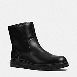 HARVEY BOOT - BLACK/BLACK - COACH Q6195