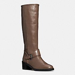 CECELIA BOOT - q6269 - SMOKE