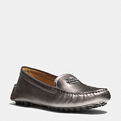 NANCY LOAFER - GUNMETAL - COACH Q6279