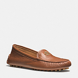 NANCY LOAFER - q6279 - SADDLE