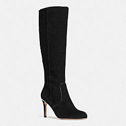 ROMA BOOT - BLACK/BLACK - COACH Q6296