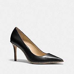 TAMERA PUMP - BLACK - COACH Q6605