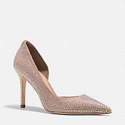 TIBBY HEEL - BRIGHT POWDER - COACH Q7039