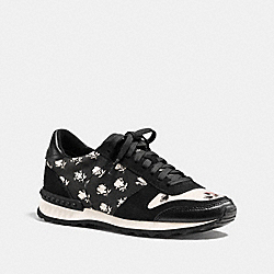 MOONLIGHT RUNNER - BLACK/IVORY - COACH Q7111