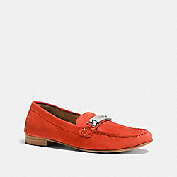 KIMMIE LOAFER - ORANGE - COACH Q7118