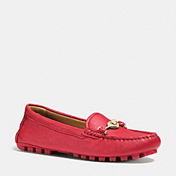 ARLENE MOCCASIN - TRUE RED - COACH Q7127