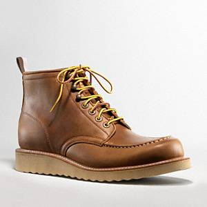 Coach - Derek- Redwing Boot Tan 8 D
