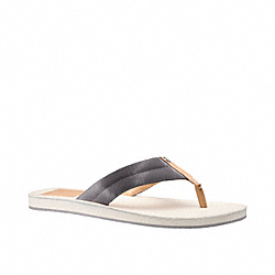 COACH Q766 - MATT FLIP FLOP ONE-COLOR
