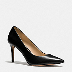 COACH SMITH PUMP - BLACK - Q7790