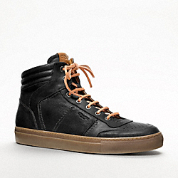 COACH ROBERT SNEAKER - BLACK - Q782