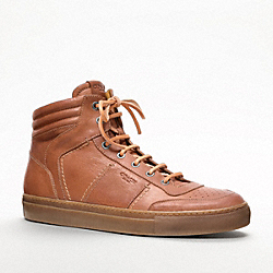 COACH ROBERT SNEAKER - WHISKEY - Q782