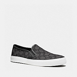 CHRISSY SNEAKER - BLACK SMOKE - COACH Q7871