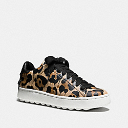 C101 LOW TOP SNEAKER - NATURAL/BLACK - COACH Q7888
