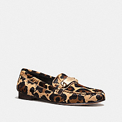 KIMMIE LOAFER - NATURAL - COACH Q7902