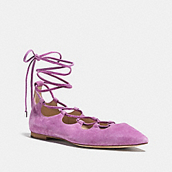 JUSTINE FLAT - WILDFLOWER - COACH Q8007