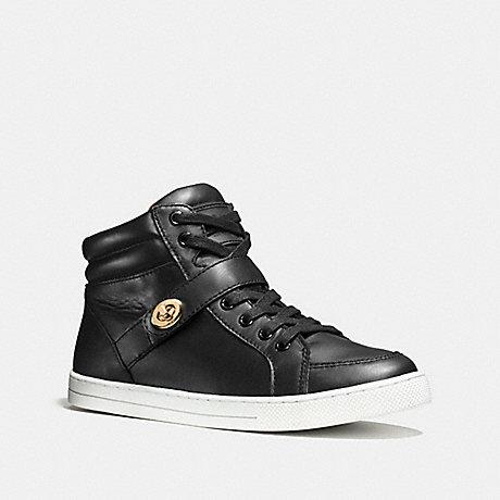 COACH PEMBROKE SNEAKER - BLACK - q8023