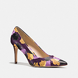 COACH SMITH HEEL - PLUM - Q8072