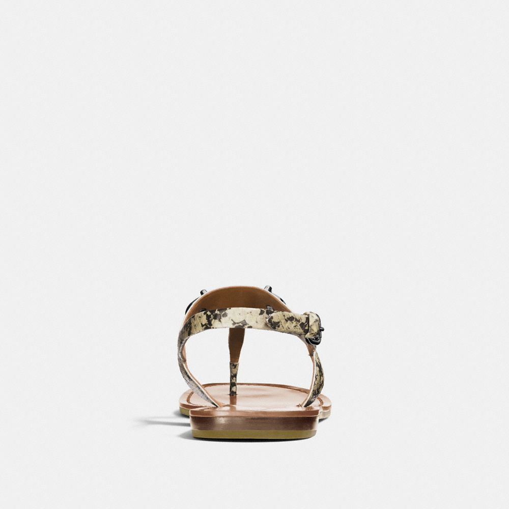 Coach Gracie Swagger Sandal Alternate View 3