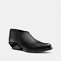 BANDIT ZIP SHOE - BLACK - COACH Q8176