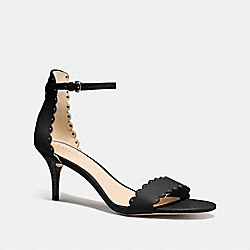 COACH MONICA HEEL - BLACK - Q8274