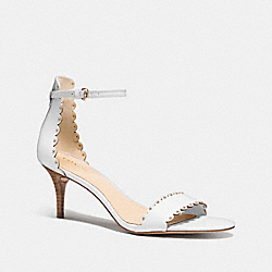 COACH MONICA HEEL - CHALK - Q8274