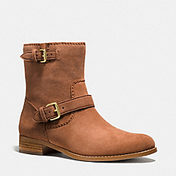 COACH ALSTON BOOTIE - SADDLE - Q8686