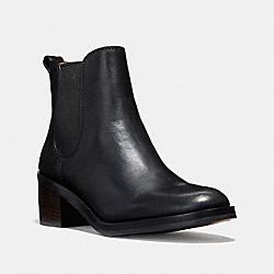 CLINTON BOOTIE - BLACK - COACH Q8687