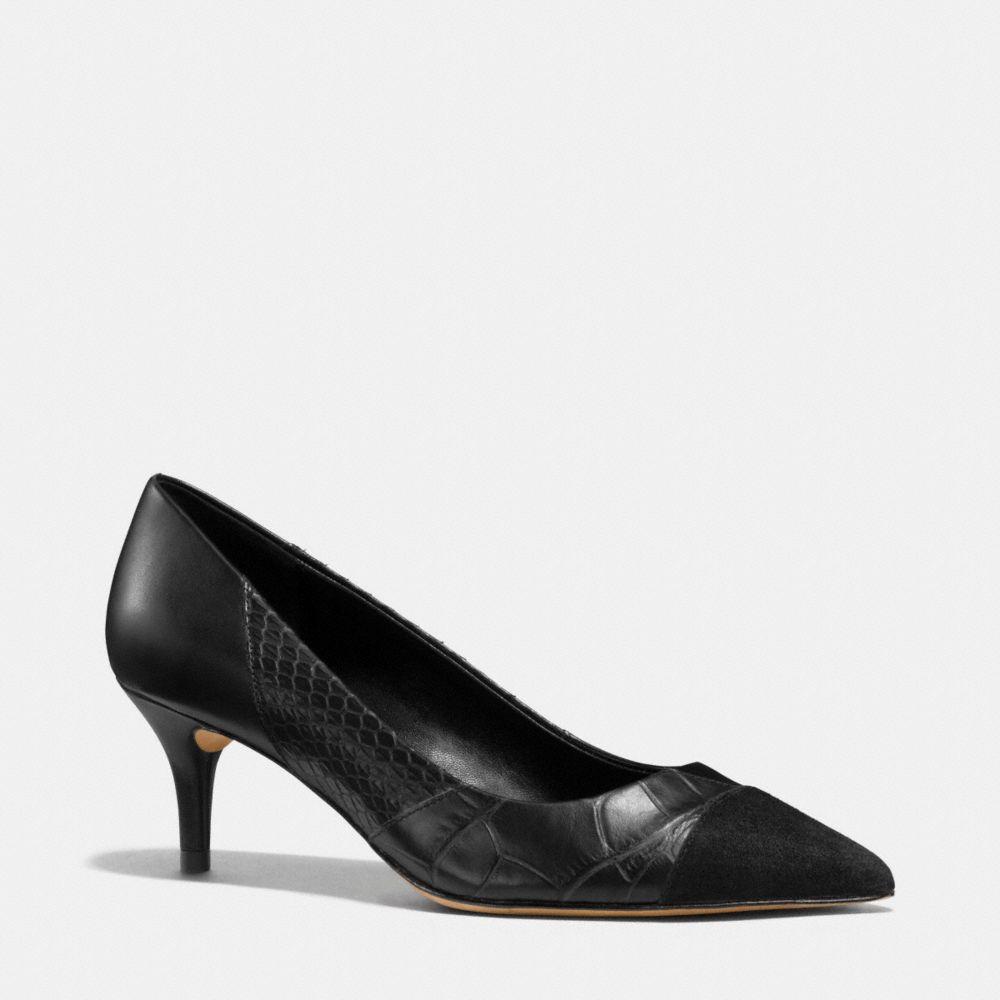 Lacey Patchwork Heel