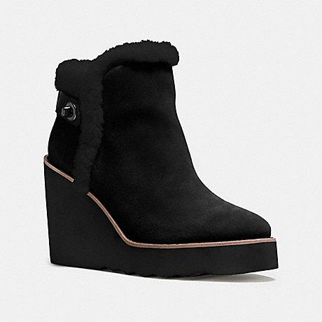 COACH KINGSTON BOOT - BLACK/BLACK - q8828