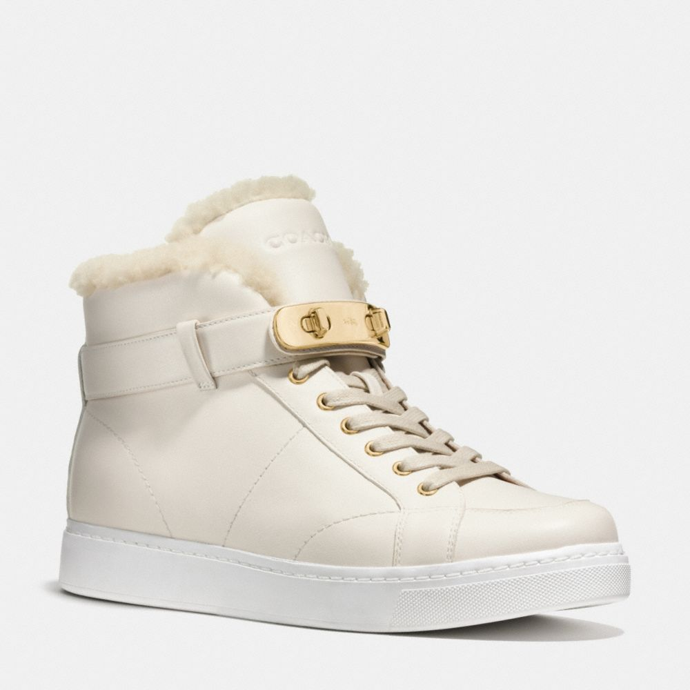 RICHMOND SHEARLING SNEAKER - Alternate View