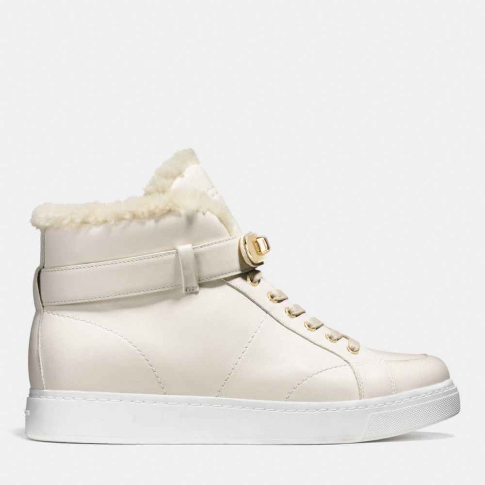 Richmond Shearling Sneaker - Alternate View A1