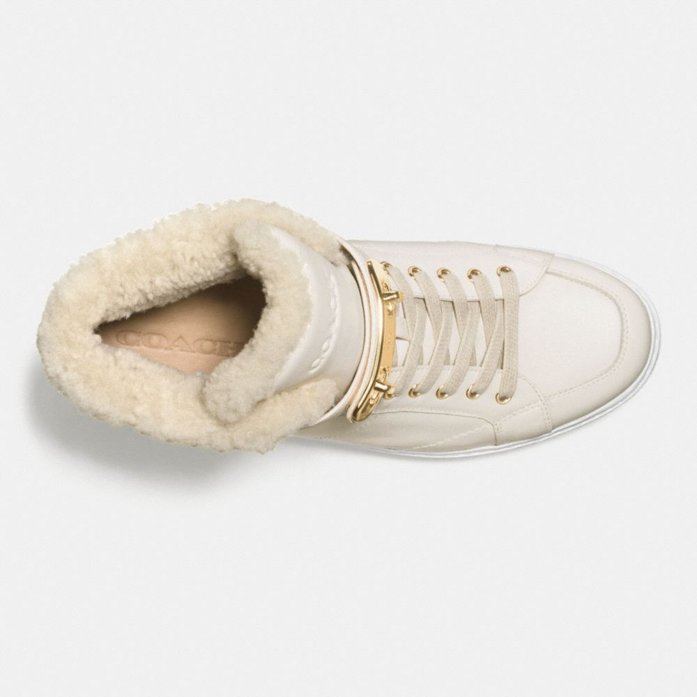Richmond Shearling Sneaker - Alternate View L1