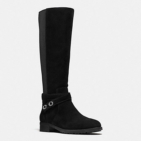 COACH ESSEX BOOT - BLACK/BLACK - q8905