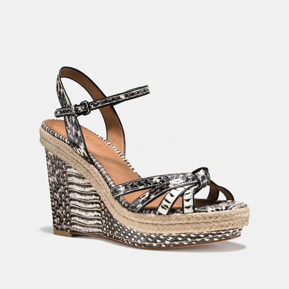 DALTON SNAKE ESPADRILLE - Alternate View
