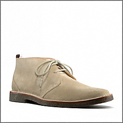 COACH ANTHONY SUEDE BOOT - SAND - Q905