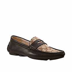 COACH NEAL SIGNATURE LOAFER - ONE COLOR - Q907