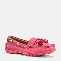 COACH COACH TASSEL LOAFER - STRAWBERRY - Q9098